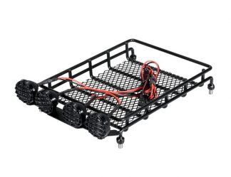Roof rack with 4 lights - SMALL