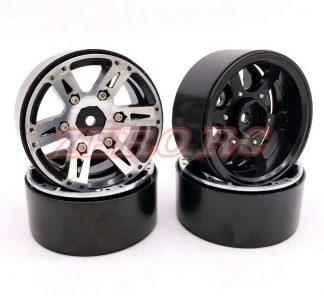 4PCS 1.9 Inch Aluminum beadlock Rims