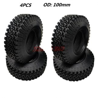 4pc 1.9 x 100mm scale tires