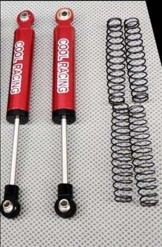90mm Internal spring shocks