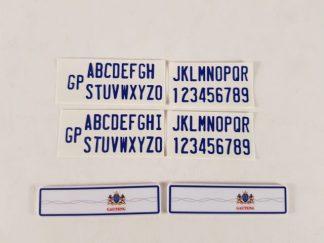 Number Plate - Gauteng - Long