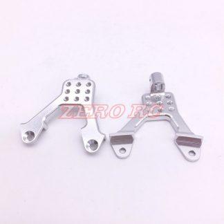 SCX10 Aluminium Shock Hoops - Front