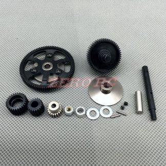 SCX10 Gearbox steel upgrade kit