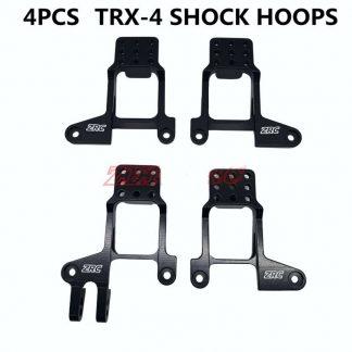 RX4 Aluminium Shock Mounts Set