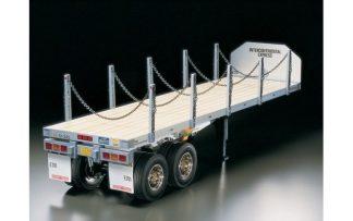 1/14 Scale Tamiya Truck - Flatbed Trailer