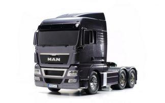 1/14 Scale Tamiya Truck - MAN TGX 26.540 6X4 XLX Gun Metal Edition