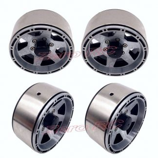 4PCS ALL METAL 1.9 Beadlock Wheel Rim