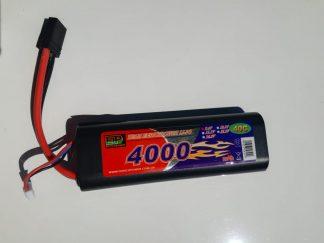 Enrichpower 4000mah 2 Cell 40C LIPO Traxxas Stick Pack