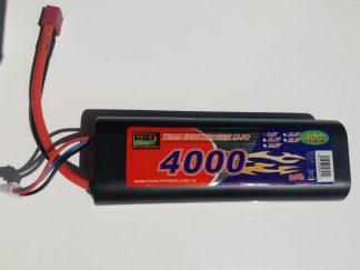 Enrichpower 4000mah 2 Cell 40C LIPO Deans Stick Pack