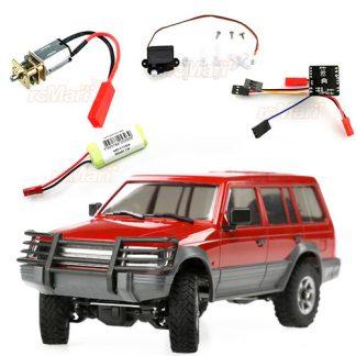 Orlandoo 1/32 scale Mitsubishi Pajero kit including Electronics
