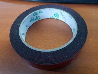 Double Sided Foam Tape - Black