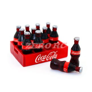 Coke Bottles and Crate