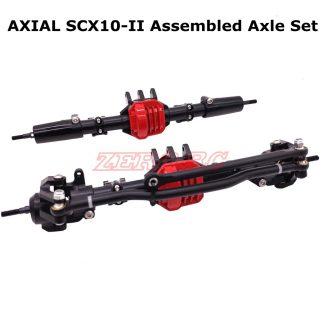 SCX 10.2 Aluminium Diff Set - Complete