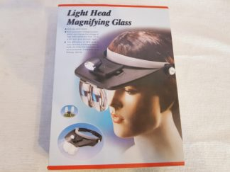 Head Band Magnifying Glasses with Light