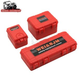 Scale Decorative Hard Plastic Box Set -Red