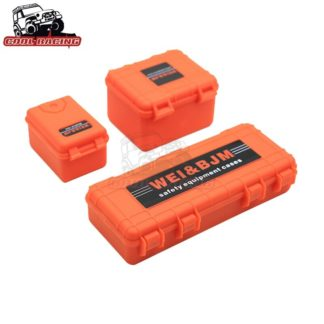 Scale Decorative Hard Plastic Box Set -Orange