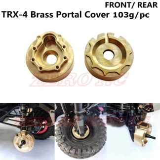 TRX4 Brass Outer Portal Covers