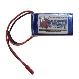 X-Power 2S 800mAh 7.4V 20C Lipo